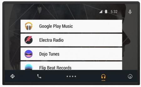 Google nos muestra la interfaz de usuario de Android Auto