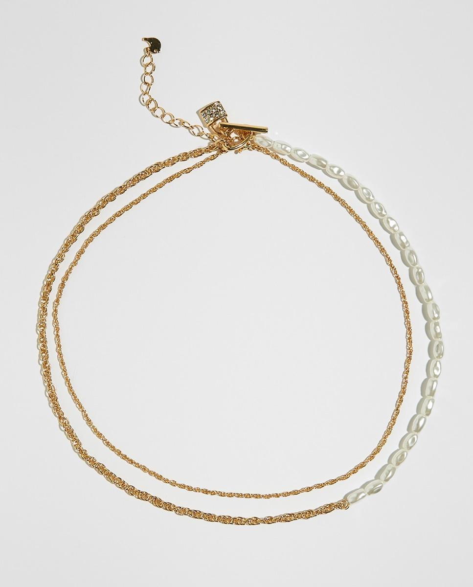 Choker cadena perlas de Sfera