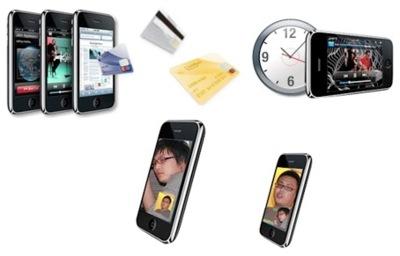 Más posibles funciones del iPhone OS 3.0: Videoconferencia, TV y Wave-to-pay