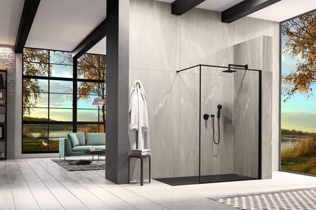 La firma duka presenta la ducha como parte de un ambiente urbano y contemporáneo