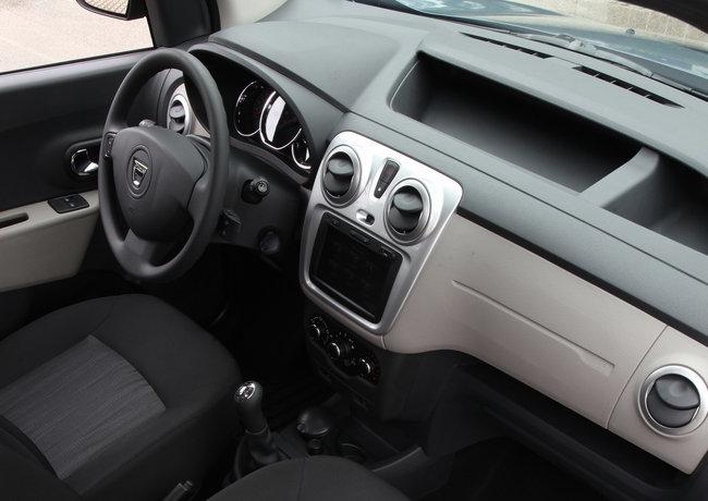 Interior del Dacia Dokker