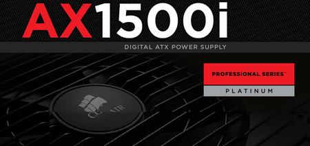 Corsair AX1500i es la PSU más avanzada y eficiente para entusiastas