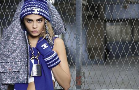 Cara Delevingne Chanel invierno 2014