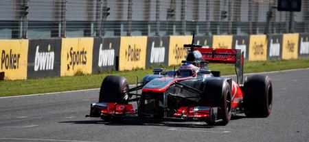 Jenson Button y McLaren empiezan la pretemporada marcando el ritmo