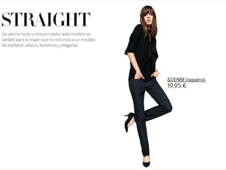 pantalon recto H&M