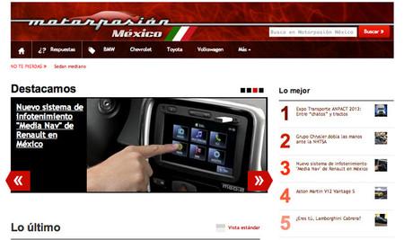 Motorpasión México ya está aquí, toda la actualidad del mundo de motor en México