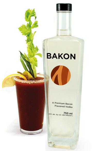 Bakon, un vodka con sabor a jamón