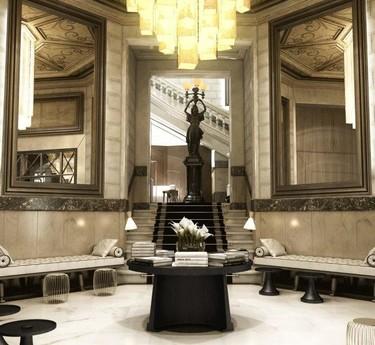 Cotton House Hotel, el encanto neoclásico en la Barcelona del siglo XXI