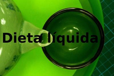 Dieta líquida. Análisis de dietas milagro (XXXIX)