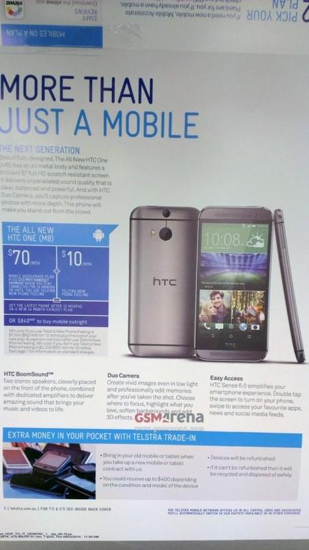 folleto HTC One