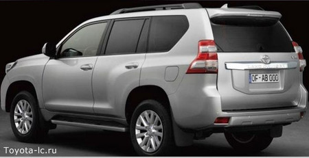 Toyota Land Cruiser 180 2014