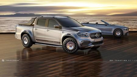 Esta Mercedes-Benz Clase X de 100.000 euros quiere ser la Maybach de los remolcadores de yates