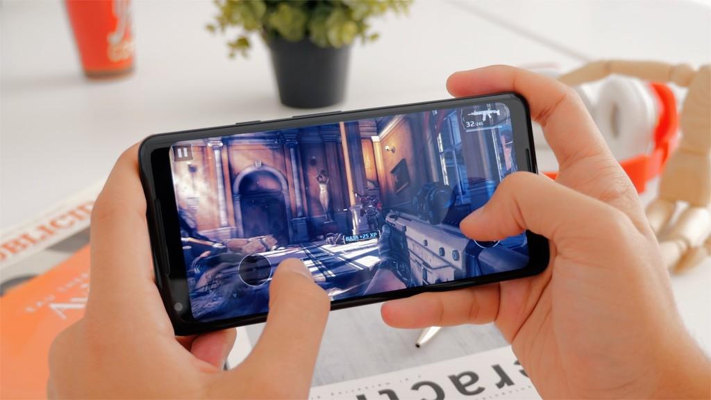 Jugando con el Pixel 2 XL