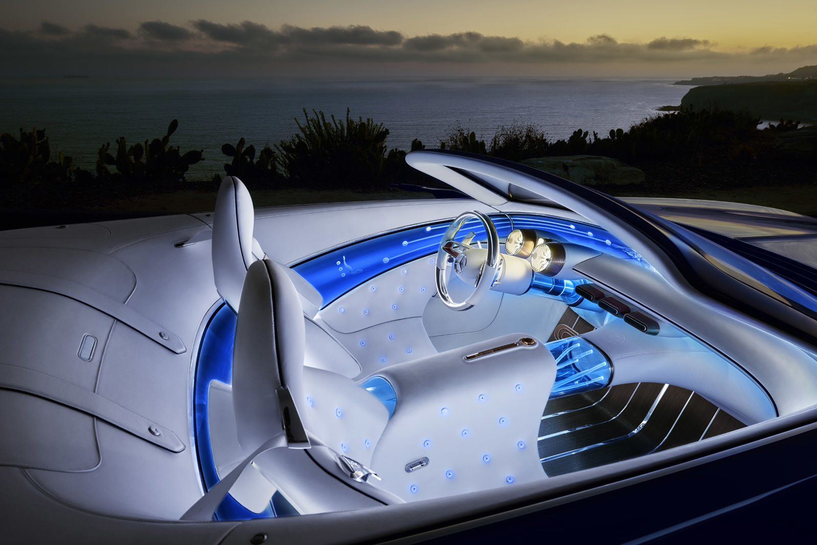 Foto de Vision Mercedes-Maybach 6 Cabriolet (4/12)
