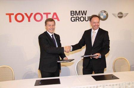 BMW y Toyota dan un paso adelante en su alianza