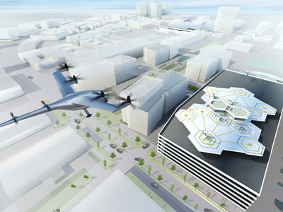 """Uber quiere comenzar las pruebas con sus """"coches voladores"""" en 2020"""