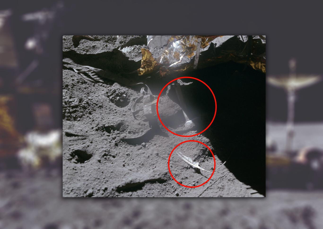 La historia de la pluma y el martillo que un astronauta dejó caer en la Luna en homenaje a Galileo