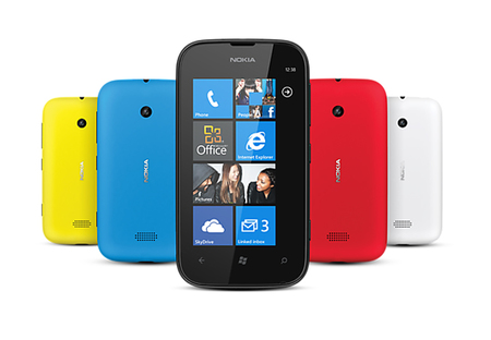 Nokia Lumia 510 frontal