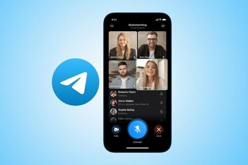 Cómo hacer videollamadas grupales en Telegram