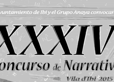 Isabel Jijón, ganadora del XXXIV Concurso de Narrativa Infantil Vila d'Ibi 2015