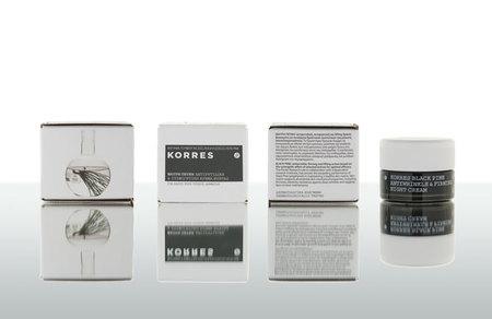 Korres Black Pine, nueva gama cosmética para la piel madura, la resistencia y regeneración del pino negro