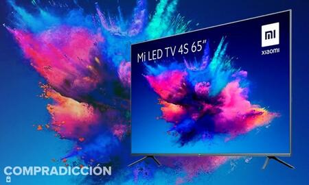 Las smart TV de 65 pulgadas de Xiaomi vuelve a estar de oferta en MediaMarkt: lleva Android TV y un descuento de 150 euros