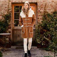 Con este abrigo tan calentito de La Redoute puedes olvidarte de pasar frío lo que queda de invierno