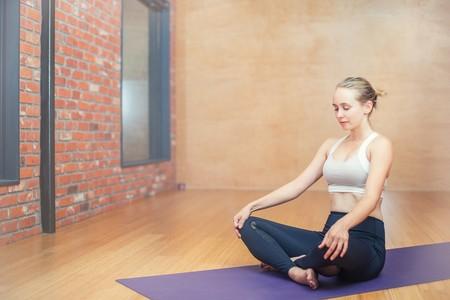 Yoga Embarazo Sukhasana