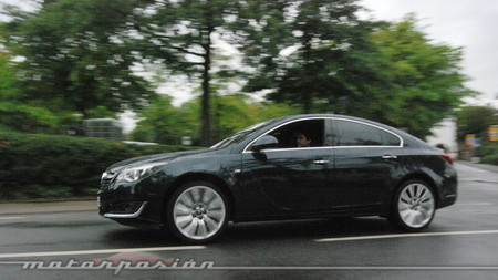 Opel Insignia, presentación y prueba