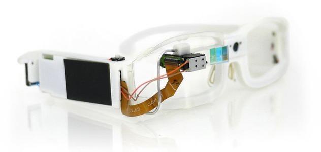 La evolución en los prototipos de Google Glass