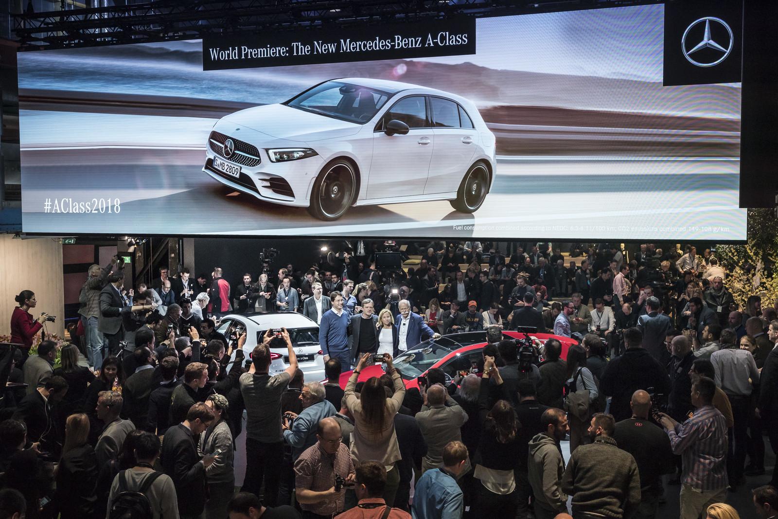Foto de Mercedes-Benz Clase A 2018 - presentación (34/114)