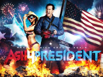 Ash4President, la imagen de la semana