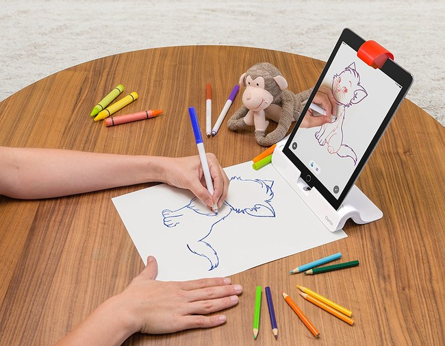Osmo iPad draw app