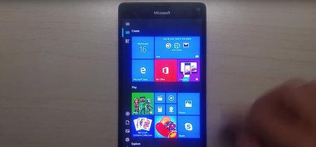 El Lumia 950 XL sigue de plena actualidad: logran que Windows 10 ARM64 funcione en el antiguo terminal de Microsoft