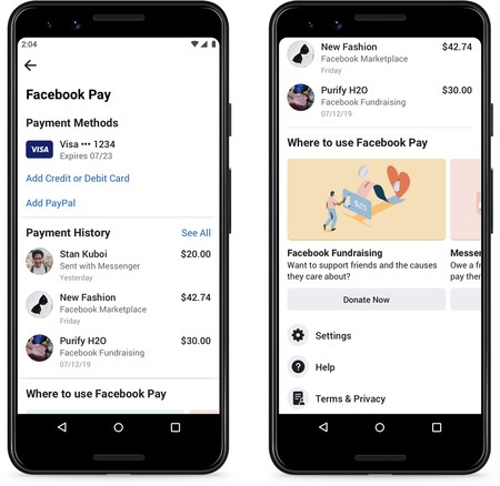 Fb Pay Transaction History