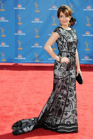 Tina Fay en los Emmy Awards 2010