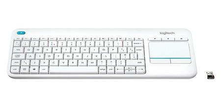 Logitech K400 Plus Blanco