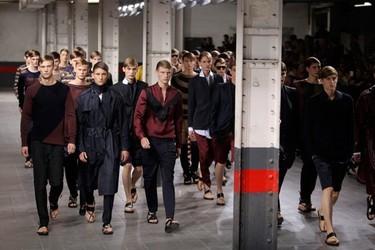 Dries Van Noten Primavera-Verano 2012 en la Semana de la Moda de París