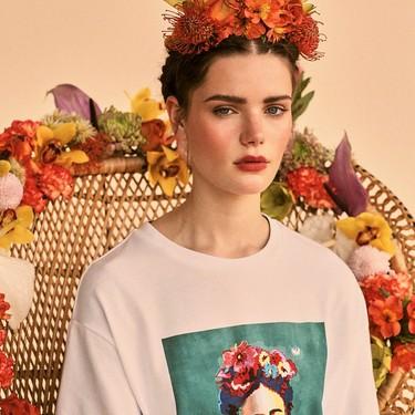 Stradivarius rinde homenaje a Frida Kahlo en su última campaña