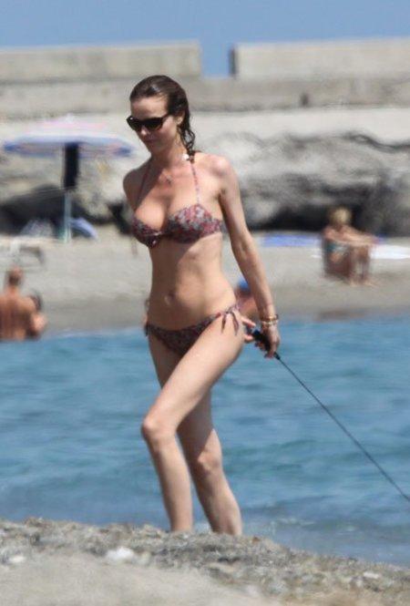 Eva Herzigova bikini