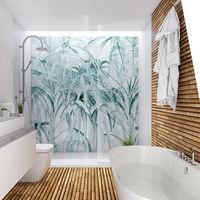 La colección H2O de WallPepper quita las dudas sobre empapelar un baño: antihumedad, no abrasiva y resistente a rozaduras y golpes