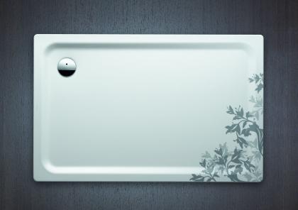 Flores, también en la ducha