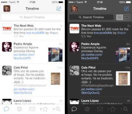 Tweetbot para iPhone se actualiza con un nuevo tema oscuro y mejoras en la gestión de varias cuentas