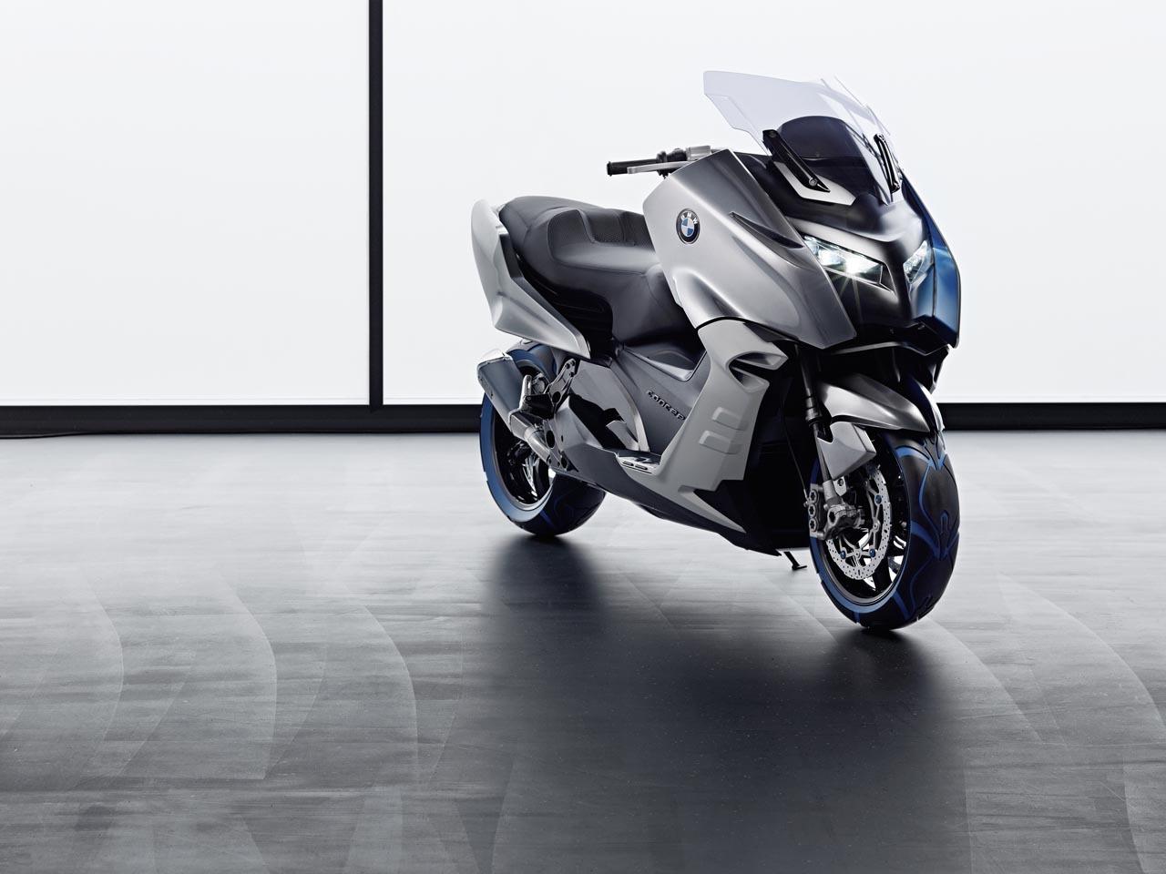 Foto de BMW Concept C Scooter, el Scooter del futuro según BMW (9/19)