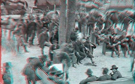 Curiosas fotos 3D de la guerra civil americana