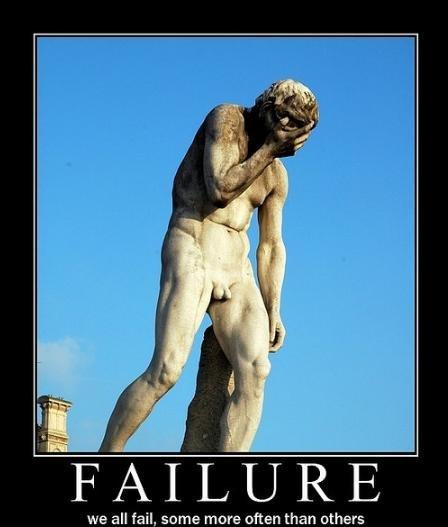 El valor del fracaso