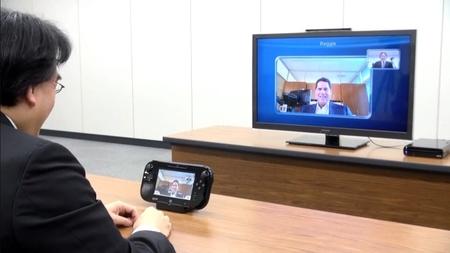 Demostración del chat de vídeo de Wii U, que promete mucha guasa, y el aspecto final de la poblada plaza WaraWara