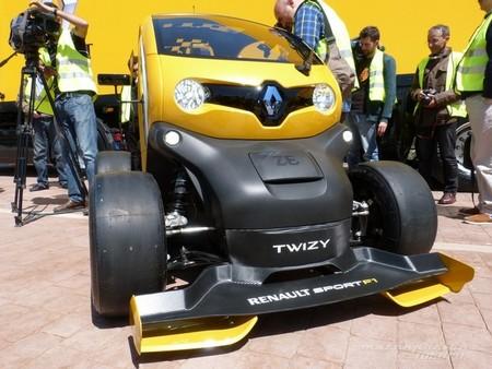 Renault Twizy RS F1: presentación en Valladolid