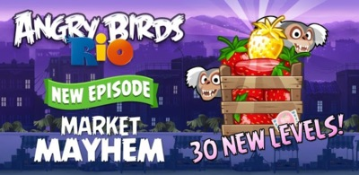 La serie Angry Birds Toons se estrena el 17 de Marzo y Angry Birds Rio recibe nuevos niveles