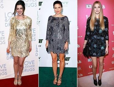 Tendencias a debate: vestidos de brillos cuando no es Nochevieja ¿sí o no?